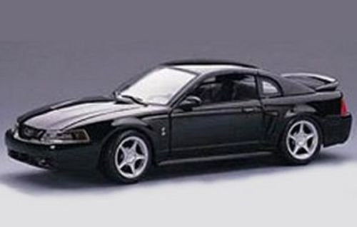Ford Mustang Cobra Model (NEW 1:24 DISPLAY MAISTO SPECIAL EDITION - BLACK 1999 FORD COBRA MUSTANG Diecast Model Car By Maisto)