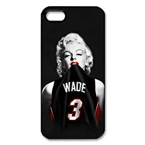 Marilyn Monroe Hard Plastic Back Cover Case for iphone 5/iphone 5s