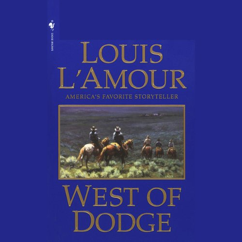 Bargain Audio Book - West of Dodge