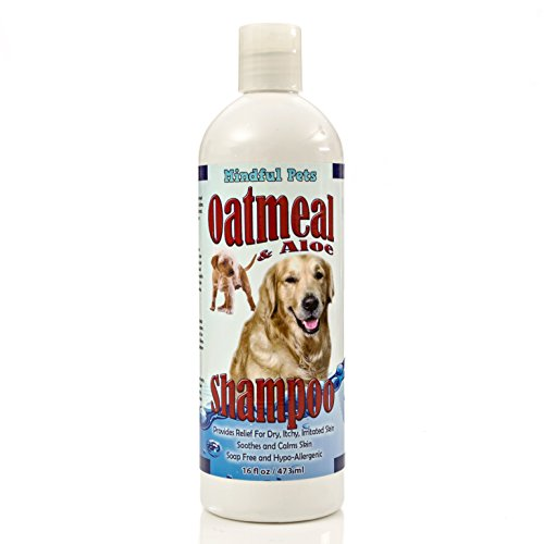 Mindful Pets Oatmeal Dog Shampoo - Best Itchy Skin.
