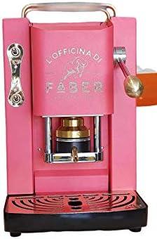 Faber Pro Deluxe - Máquina de café con acabado de latón en monodosis de papel, 44 mm, regalo de 20 cápsulas de emociones: Amazon.es: Hogar