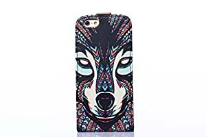 2014 New Fashion Tribe Vintage Style Pattern Hard Phone Skin Case Cover Proctetive Shell For Iphone 6 6G 4.7 inch Air?¨º?¡ìFox?¨º? and simple high-end business detachable key gifts