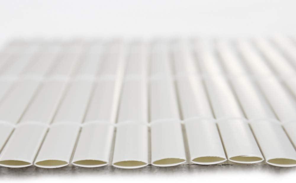 Ldk Garden Ca/ñizo Doble Cara PVC Blanco 3 X 1,50 M
