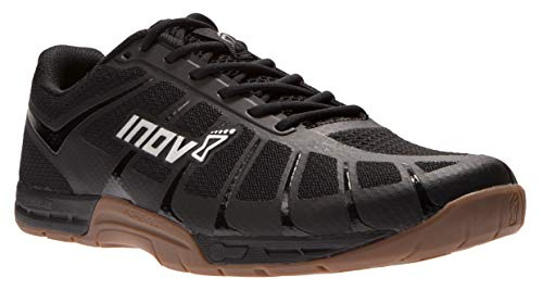 Inov-8 Mens F-Lite 235 V3 - Ultimate Supernatural Cross Training Shoes - Lightweight and Flexible - Functional Performance Trainers for Gym and Weight Lifting - Black/Gum 13 M US