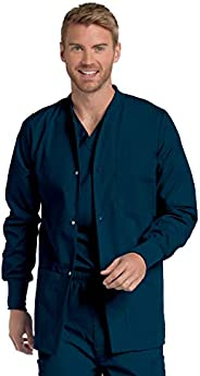 Landau Men's Premium 4-Pocket Classic Fit Warm-Up Medical Scrub Ja