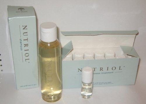 NUSKIN Nu Skin Fitness Nutriol Shampooing et 12-flacon Hair Fitness Treatment
