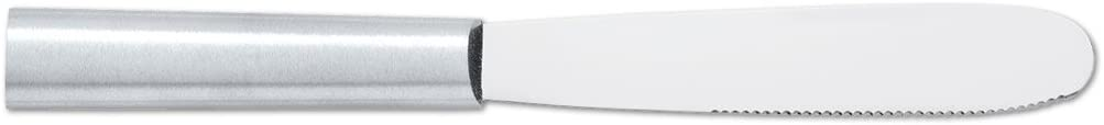 Rada Cutlery Super Spreader – Spreading Knife Made from Stainless Steel With Brushed Aluminum Handle Made in USA