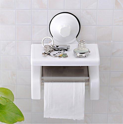 GONDD トイレットペーパーホルダーフリーパンチペーパータオルホルダークリエイティブ浴室の装飾、サイズ:20.2x17.5x11.5cm
