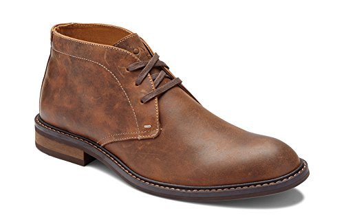 Vionic Men's Bowery Chase Chukka Boot - Mens Lace up Boot with Concealed Orthotic Arch Support Brown...