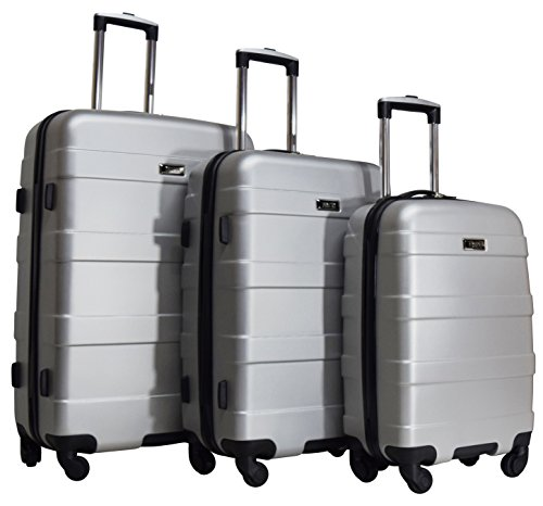 Kenneth Cole Reaction Soaring Bliss 3-Piece Hardside 4-Wheel Upright Spinner Luggage Set: 28