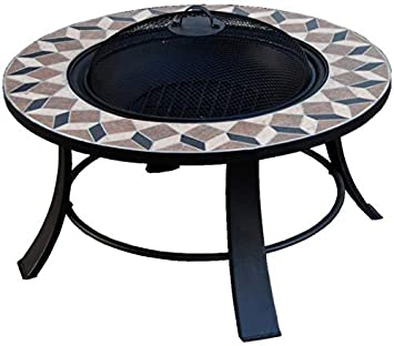 Firepit, 77cm Outdoor Garden Fire Bowl CS-Trading FS4N