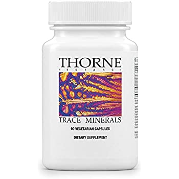 Thorne Research - Trace Minerals - Complete Trace Mineral Complex - 90 Capsules