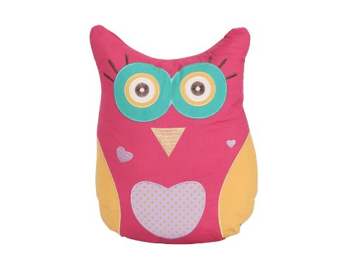 New Children's Kids Soft Cushion Owl Nursery Filled Cushion Intimates 5029497977263