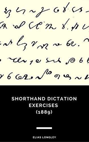 Shorthand Dictation Exercises (1889)