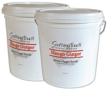 Soothing Touch Mango Ginger Brown Sugar Scrub, 2 Gallon
