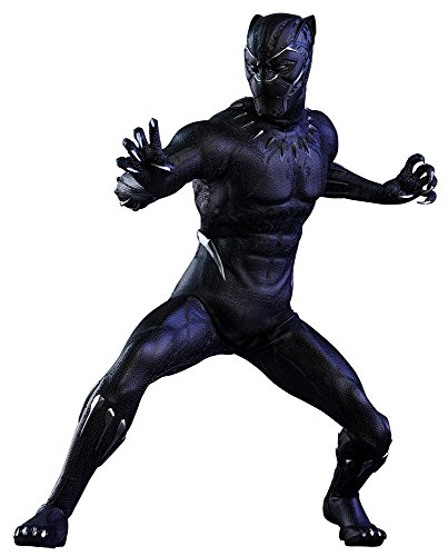 Hot Toys Movie Masterpiece Black Panther Special LED Sixth Scale Figure