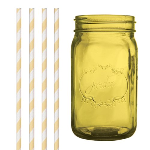 yellow candy jar - 6