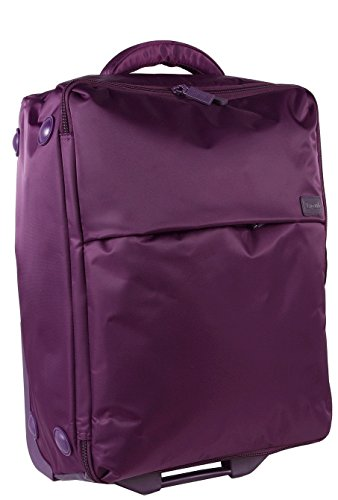 lipault-paris-foldable-2-wheeled-trolly-one-size-violet