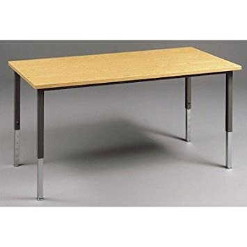 Adjustable Height Craft Table.Amazon Com Fleetwood 22 6410 Welded Frame Craft Table With