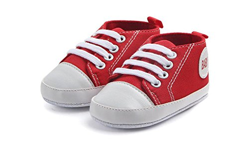 Pictures of WAM Baby Boys Girls Canvas Toddler Sneaker 7
