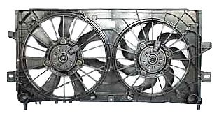 - TYC 621430 Chevrolet/Pontiac Replacement Radiator/Condenser Cooling Fan Assembly