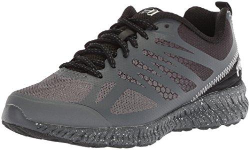 FILA Memory Speedstride Trail - Zapatillas de Running para Hombre, Dark Shadow/Black/Metallic Silver, 10 M US