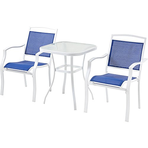 Cheap  Three Piece Outdoor Bistro Set, Adorns Your Patio or Garden with its..