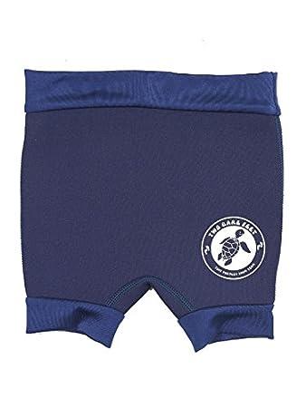 XL, Navy Blue Two Bare Feet Swim Nappy Reusable Neoprene Swimming Nappy