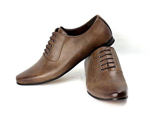 Hombres Inteligentes Cordones Para Zapatos De Vestir para oficina Boda Formal Trabajo Café