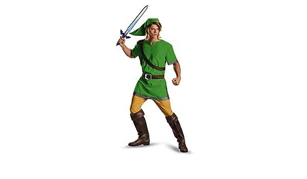 Jakks Pacific Disfraz de Link de La Leyenda de Zelda para Adulto ...