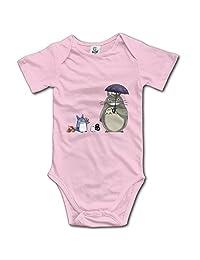 Kids Totoro Cartoon Baby Bodysuit Jumpsuit Little Boys Girls 100% Cotton