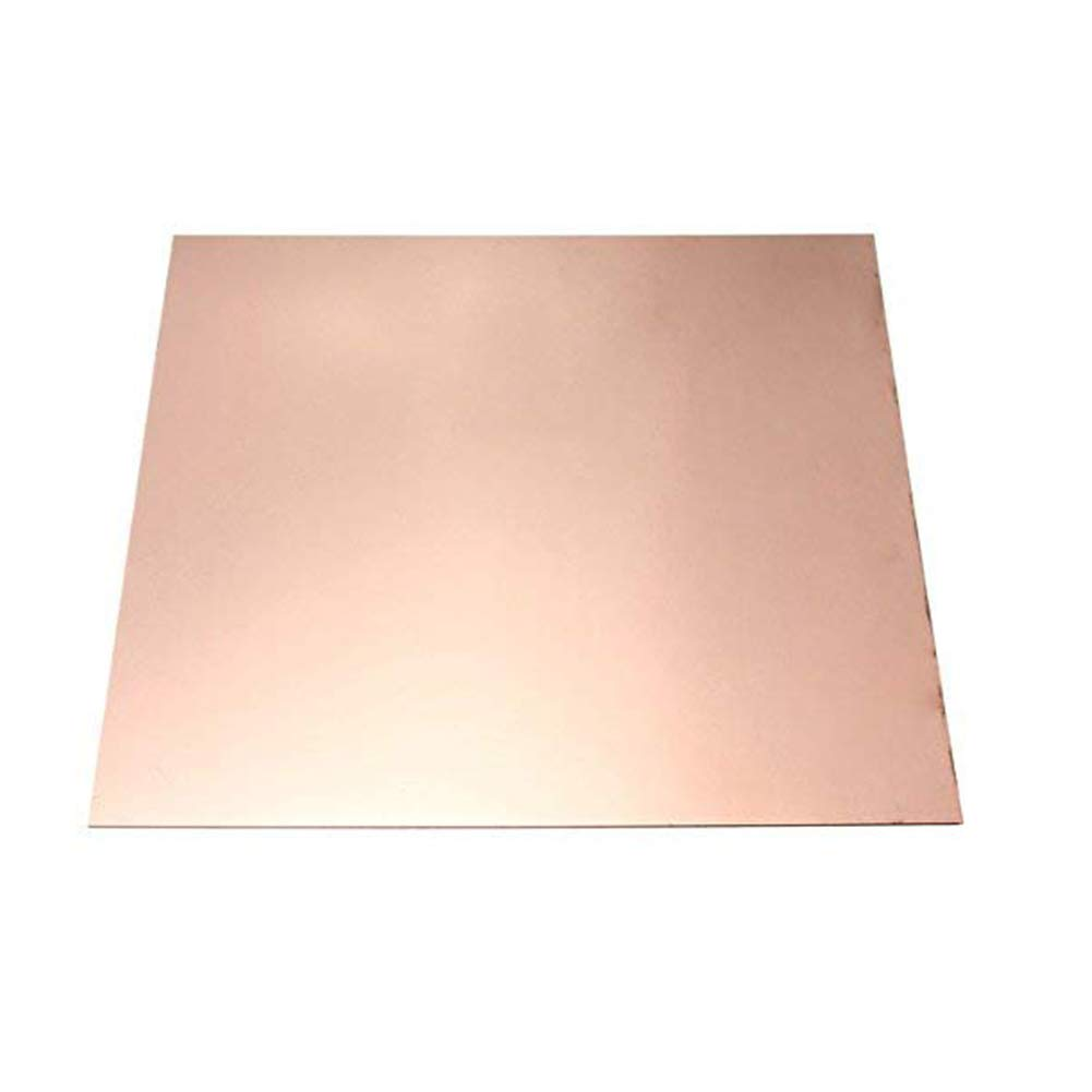 SOFIALXC 99.99% Pure Copper Metal Sheet for Handicraft Aerospace-Thickness 0.8mm by SOFIALXC