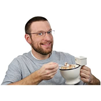 Fairly Odd Novelties Jarra para café en forma de inodoro
