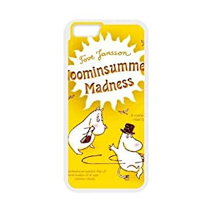 Personalized Durable Cases Moomin Valley For iPhone 6 4.7 Inch Cell Phone Case White Tsagi Protection Cover