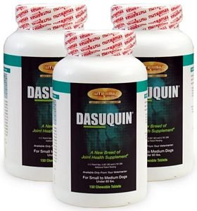 3PACK Dasuquin for Small to Medium Dogs (450 Chewable Tabs) by Dasuquin