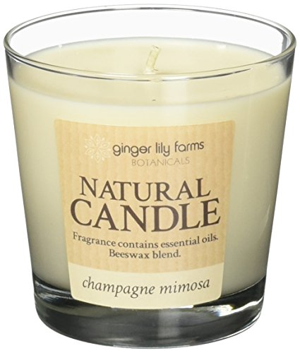 Mimosa Ginger (Ginger Lily Farm's Botanicals 308892 Natural Candle Champagne Mimosa)