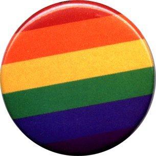 Gay Pride Rainbow - 1 1/2