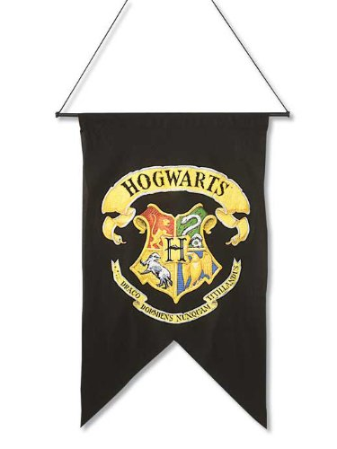 [Harry Potter Hogwart's Printed Wall Banner] (Tv Movie Childrens Costumes)