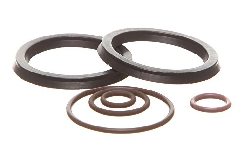REPLACEMENTKITS.COM - Brand Fits Duramax 6.6L Fuel Filter Primer Rebuild Seal Kit with Viton O-Rings (Duramax Lb7 Fuel Filter Housing Rebuild Kit)