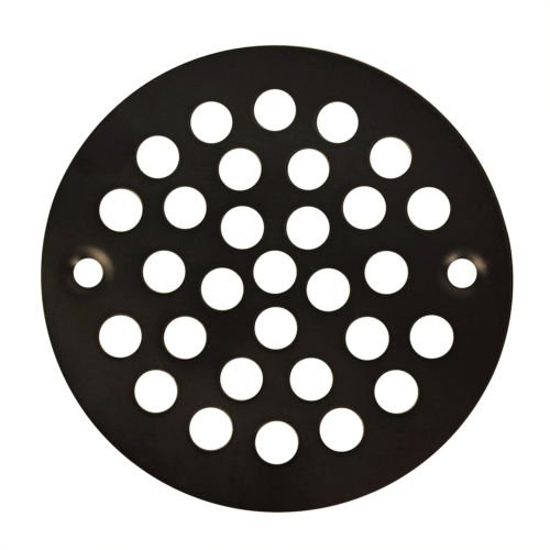 "Oil Rubbed Bronze Round Shower Grate Drain 4 1/4"" Replacement Cover Tile Stalls"