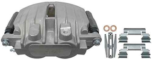 ACDelco 18FR1591 Professional Rear Driver Side Disc Brake Caliper Assembly without Pads (Friction Ready Non-Coated), Remanufactured ()