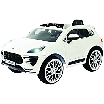Rollplay Porsche Macan 6 Volt Battery Powered Ride On, White