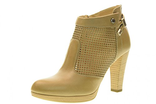 De Tacón Mujer 439 P717005d Zapatos Alto Nero Con Talón Sand Giardini waRICqC