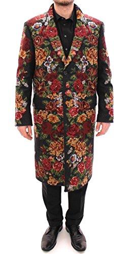 Dolce & Gabbana Multicolor Baroque Brocade Floral Coat - Dolce And Gabbana Baroque
