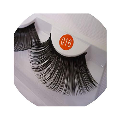 1 Pairs Black Long False Eyelash Eyelash Stage Artistic Exaggeration Halloween Performance Eyelash Makeup Tools,Mix