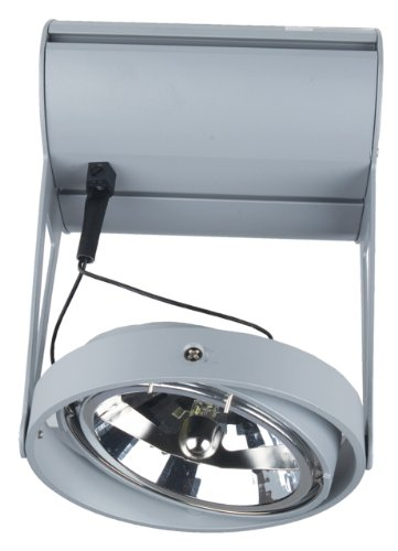 Eurofase 14775-017 Jive 1-Light Ar111 Monospot, Platinum
