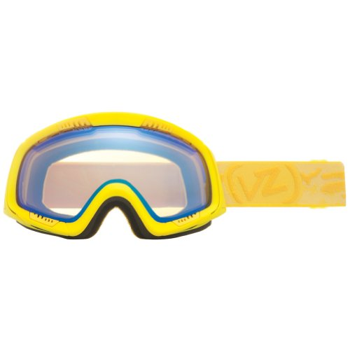 VonZipper Feenom Adult Winter Sport Snowmobile Goggles Eyewear - Lemondrop Satin/Yellow Chrome / One Size Fits All