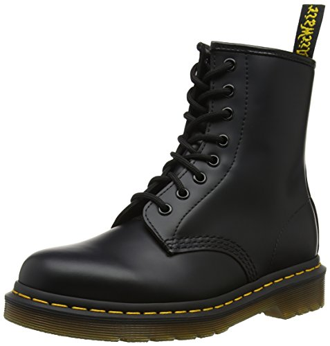 Nero Stivali Adulto Unisex Martens Black Smooth Dr 1460 Smooth nwHqOxZHa1