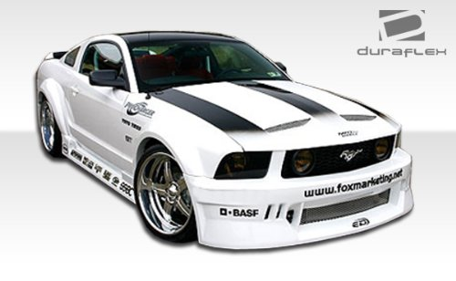 Duraflex ED-XLY-953 Circuit Wide Body Kit - 8 Piece Body Kit - Compatible For Ford Mustang 2005-2009