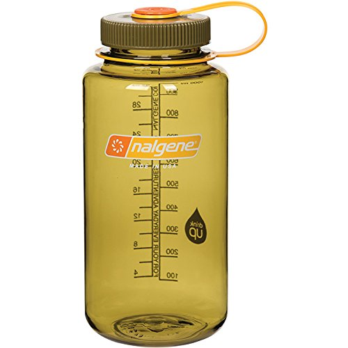 Nalgene WM 1 QT Olive Bottle, 32 oz (Daves Olives)